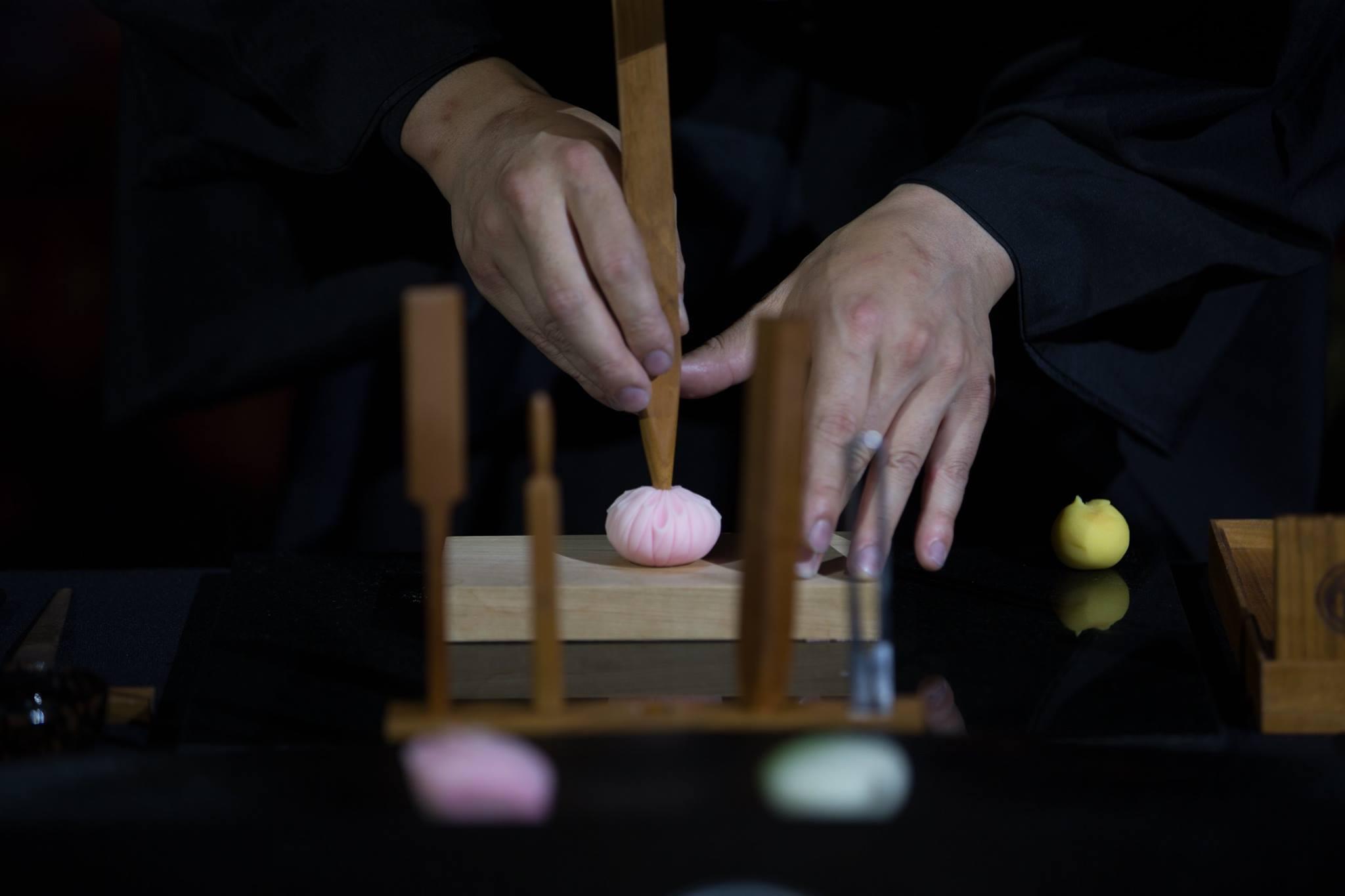 Wagashi Master Junichi Mitsubori