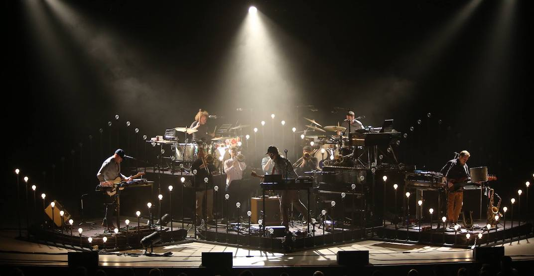 Indie band Bon Iver playing a concert in Vancouver this May