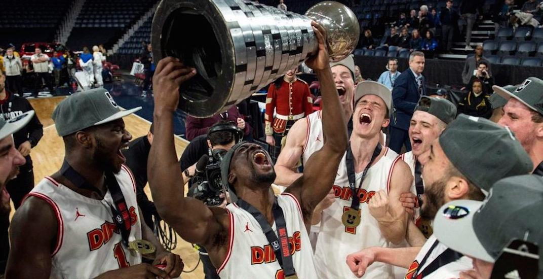 University of Calgary wins first-ever national basketball championship on last-second shot (VIDEO)