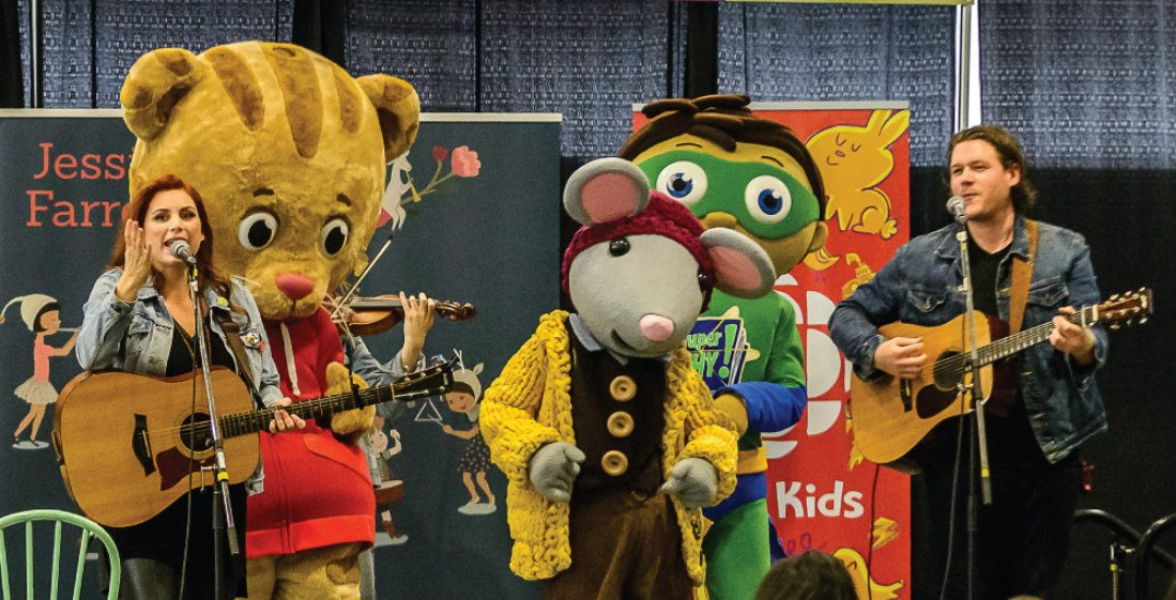 See Daniel Tiger and SuperWHY! at the Healthy Family Expo in Vancouver this Sunday