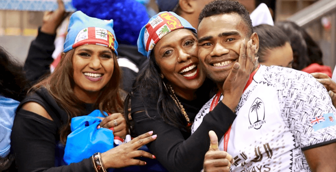 Fiji rugby fans took over BC Place this weekend (PHOTOS)