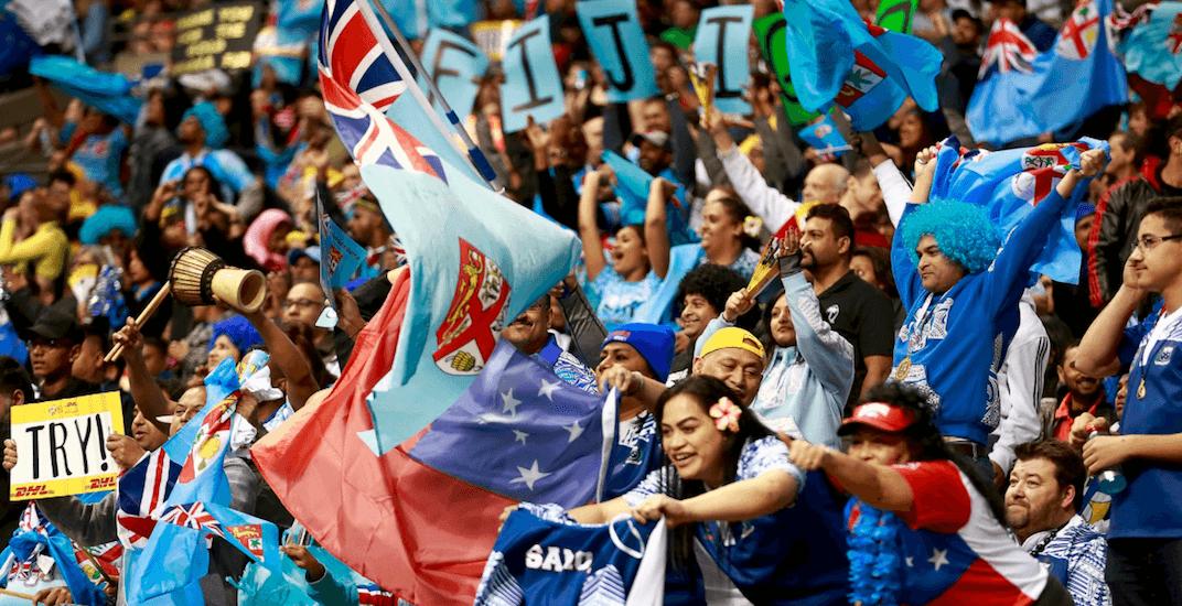 fiji fans rugby sevens