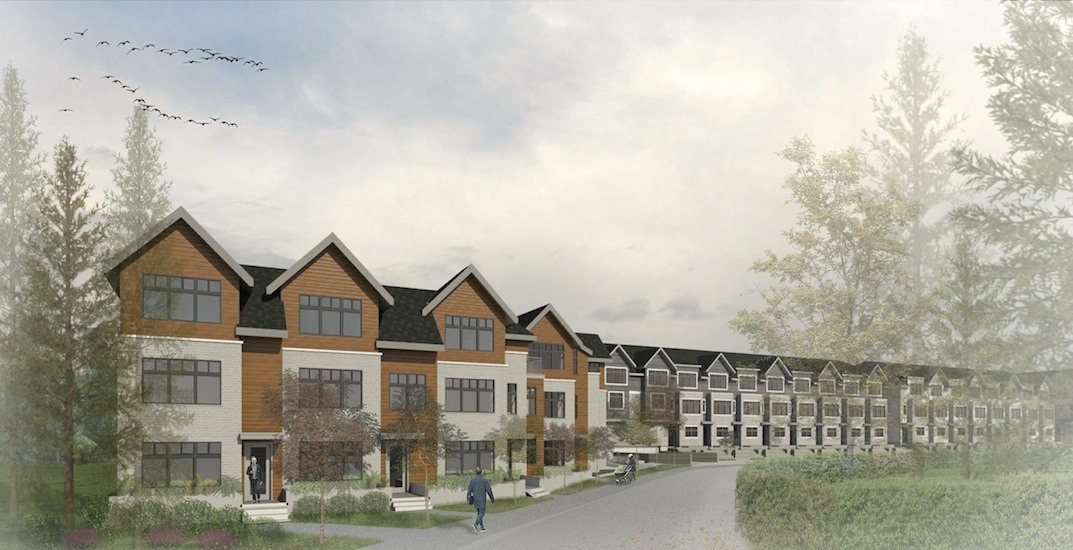 New townhouse neighbourhood with over 270 homes proposed for North Vancouver