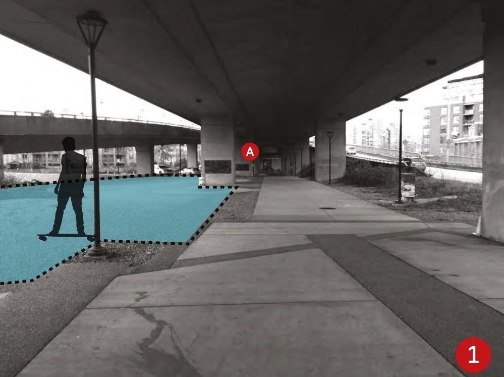 Cambie Street Skate Plaza 1.5