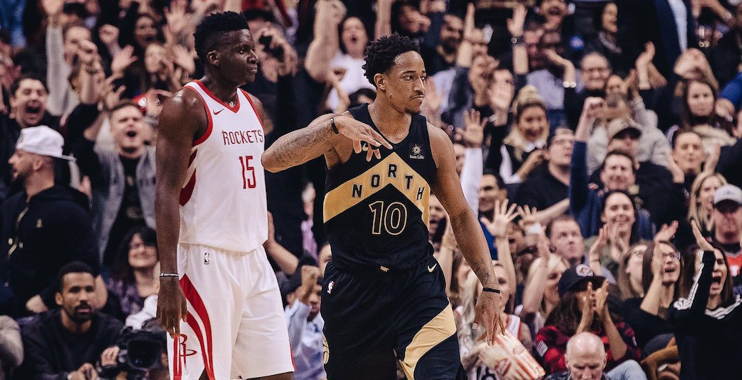 Friday's Raptors game was the most-watched in Canadian history