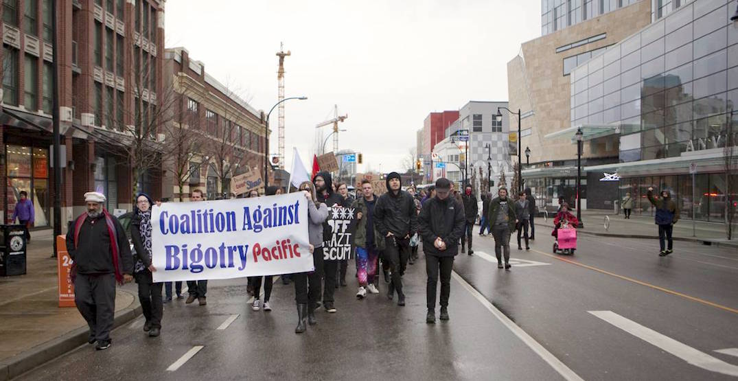 A march against racism is happening in Vancouver this month