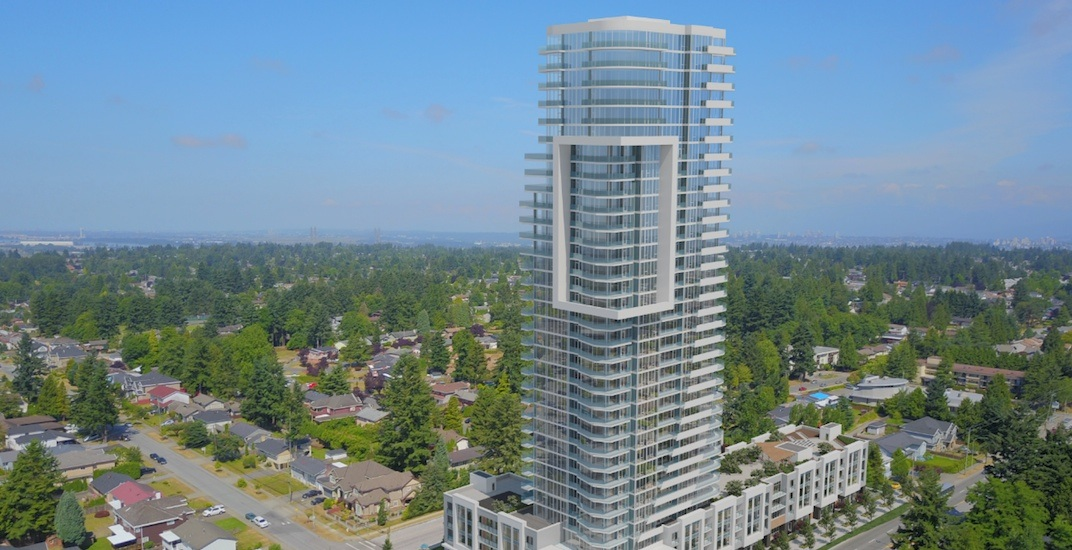 Two residential towers over 30 storeys proposed for Delta