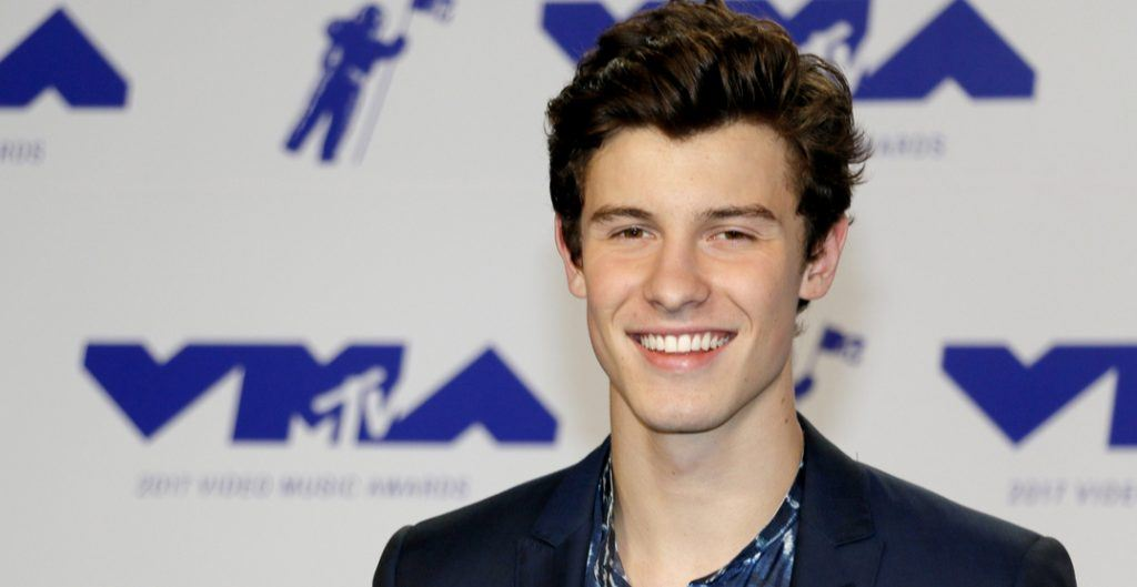 hawn Mendes at the 2017 MTV Video Music Awards held at the Forum in Inglewood, USA on August 27, 2017.