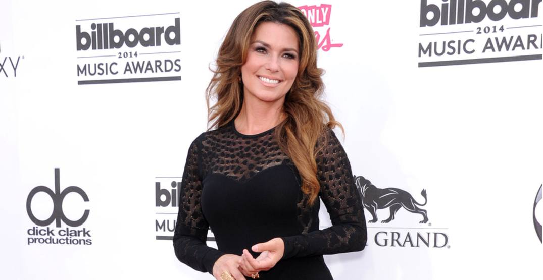 Shania Twain arrives to the Billboard Music Awards 2014 on May 18, 2014 in Las Vegas, NY