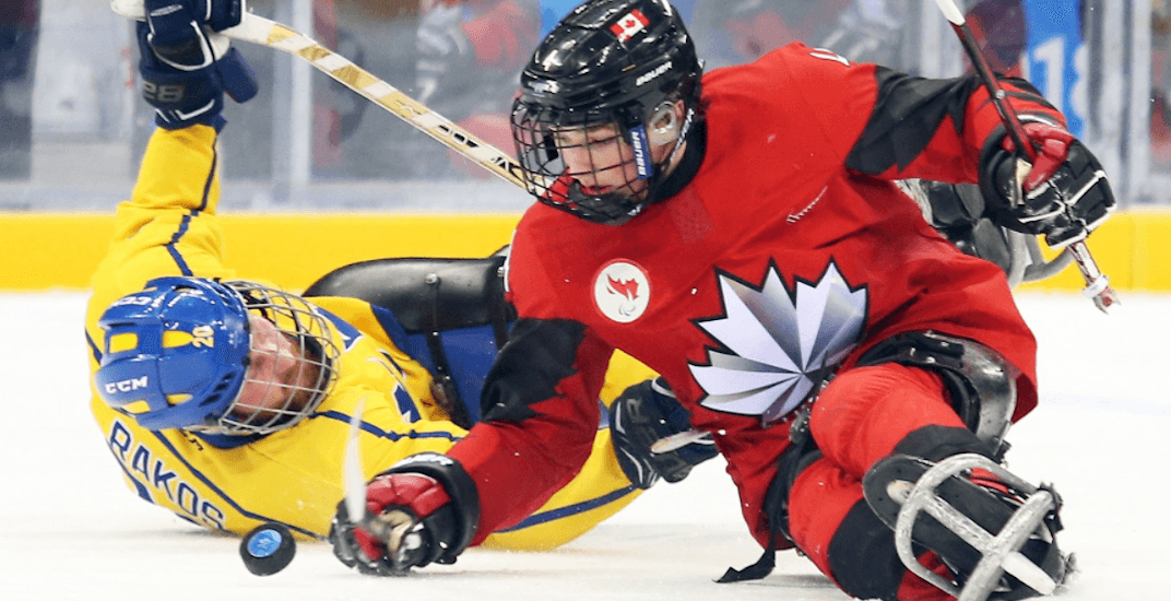 Canada sledge hockey paralympics