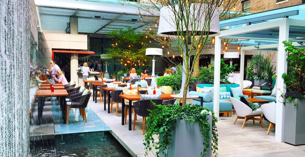 Reflections' The Garden Terrace summer patio opens April 4