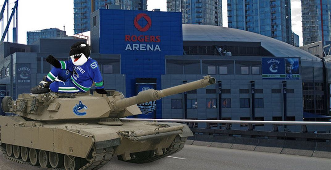 Canucks tank