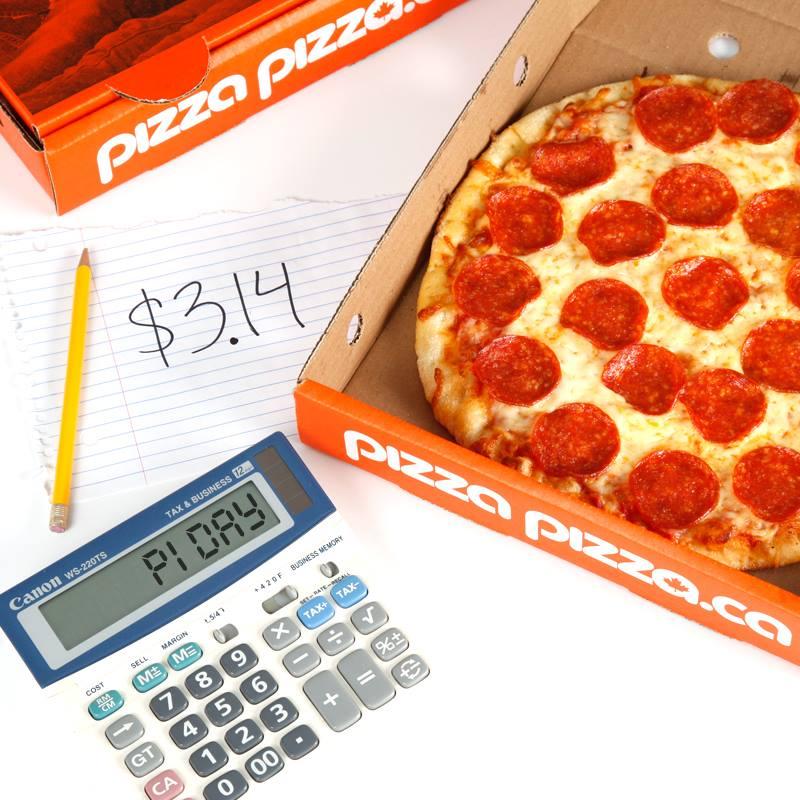 Pizza Pizza pi day