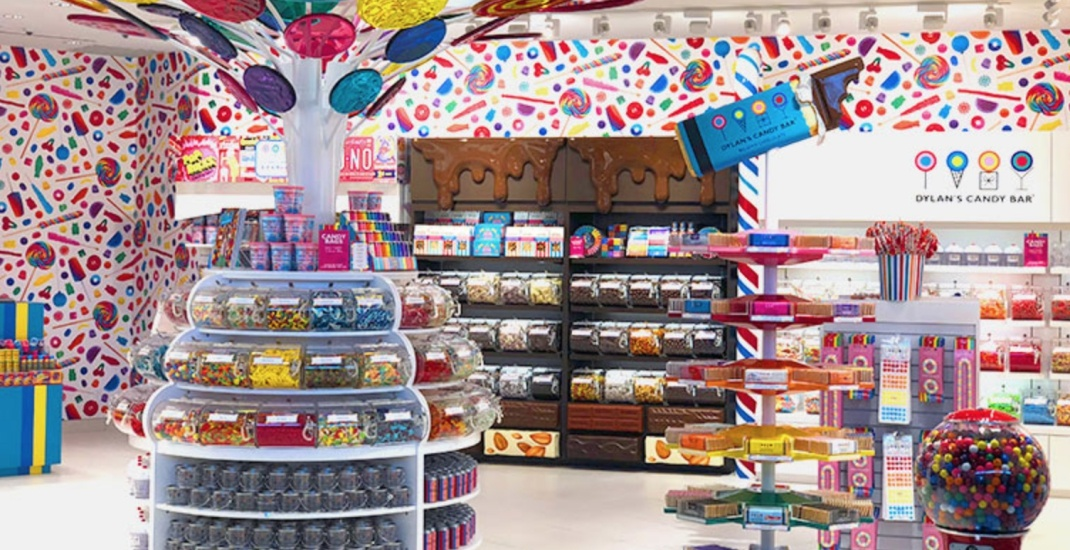 Dylan's Candy Bar just opened its first Canadian outlet at YYZ