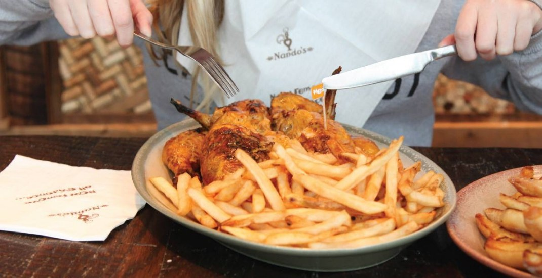Nandos Is Dishing Out Free Chicken And Fries For One Day Only This
