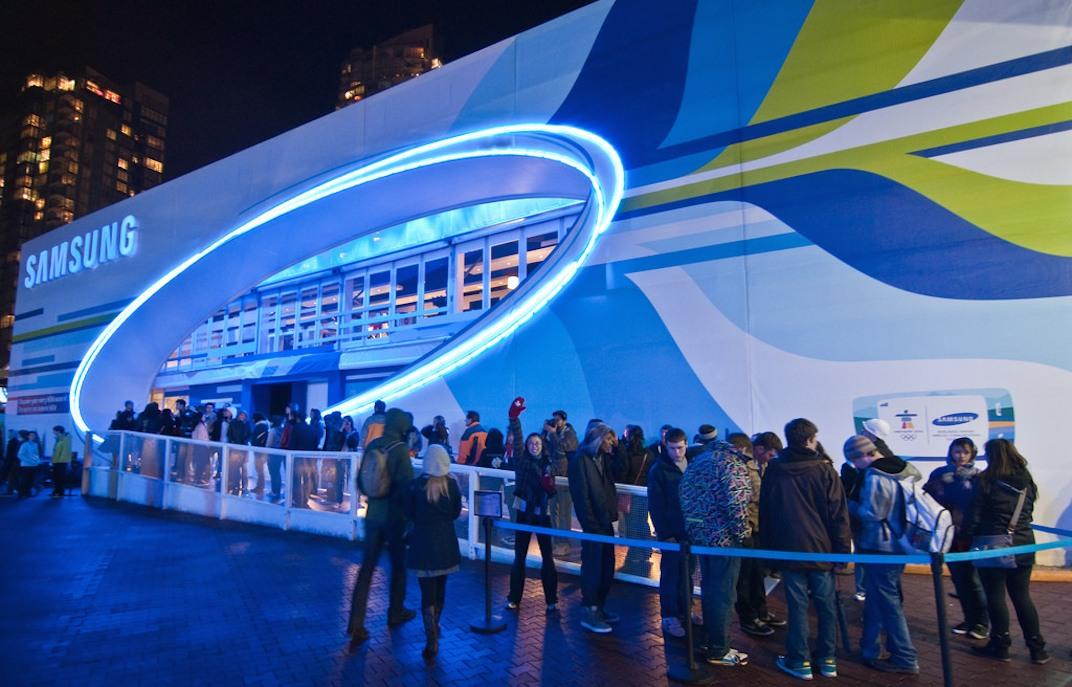 Live City Yaletown 2010 Olympics