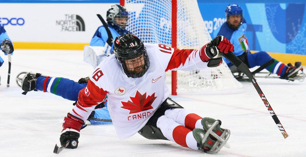 Sledge hockey canada