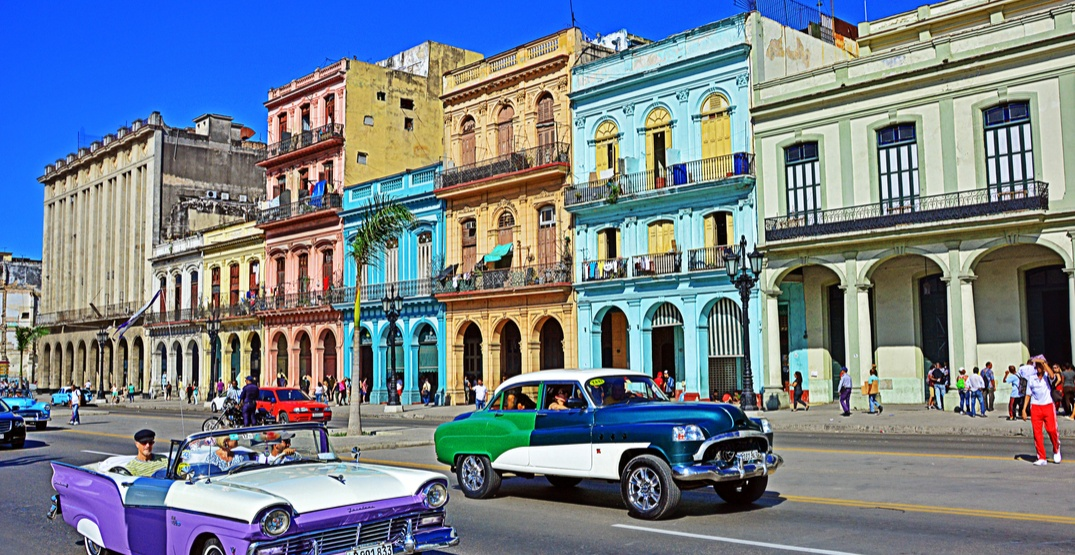 You can fly from Vancouver to Havana for $331 roundtrip