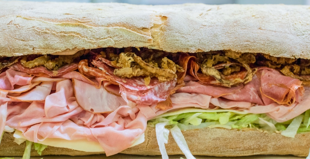 This Italian bakery does an epic FIVE FOOT sandwich