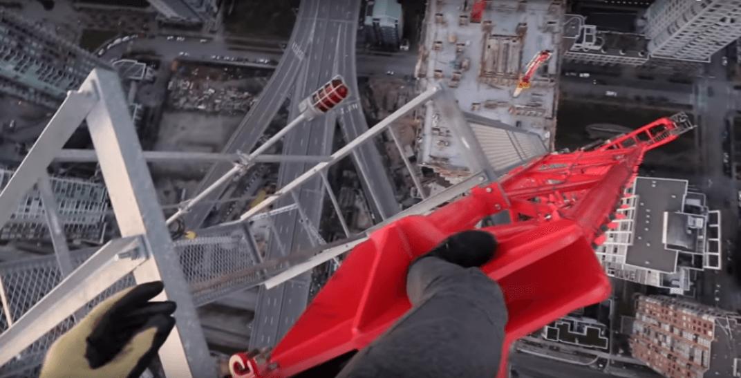 Crane climb vancouver
