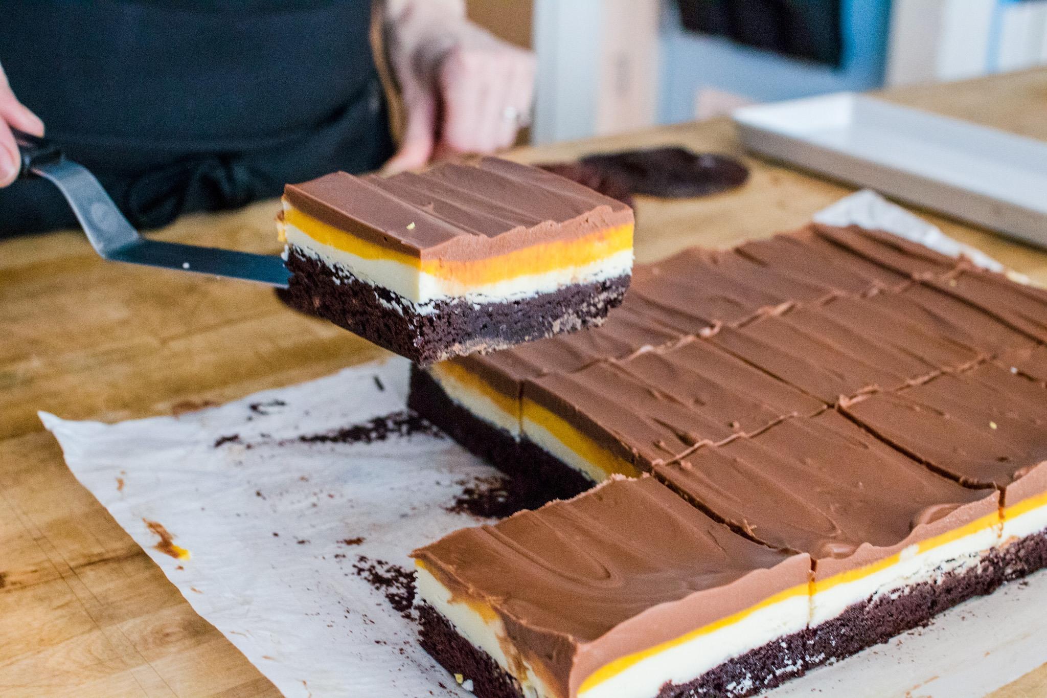 Creme Egg Brownie easter Cake & Loaf hamilton