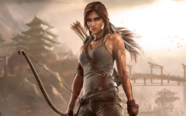 Lara Croft in 2013's Tomb Raider video game.