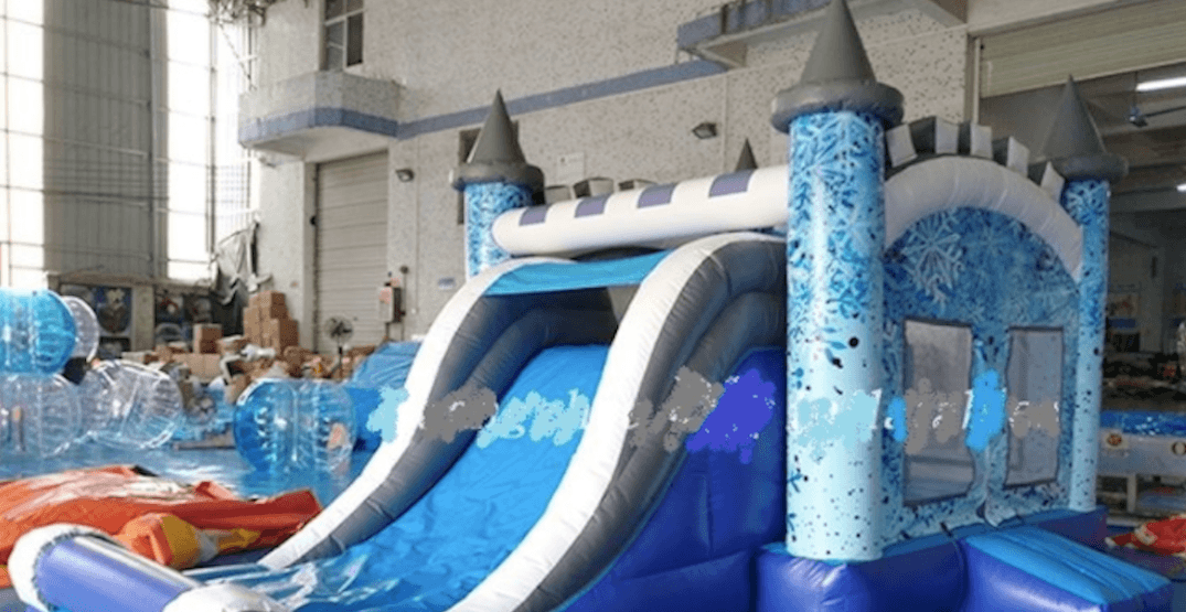 You can buy your own bouncy castle at a Metro Vancouver auction this weekend