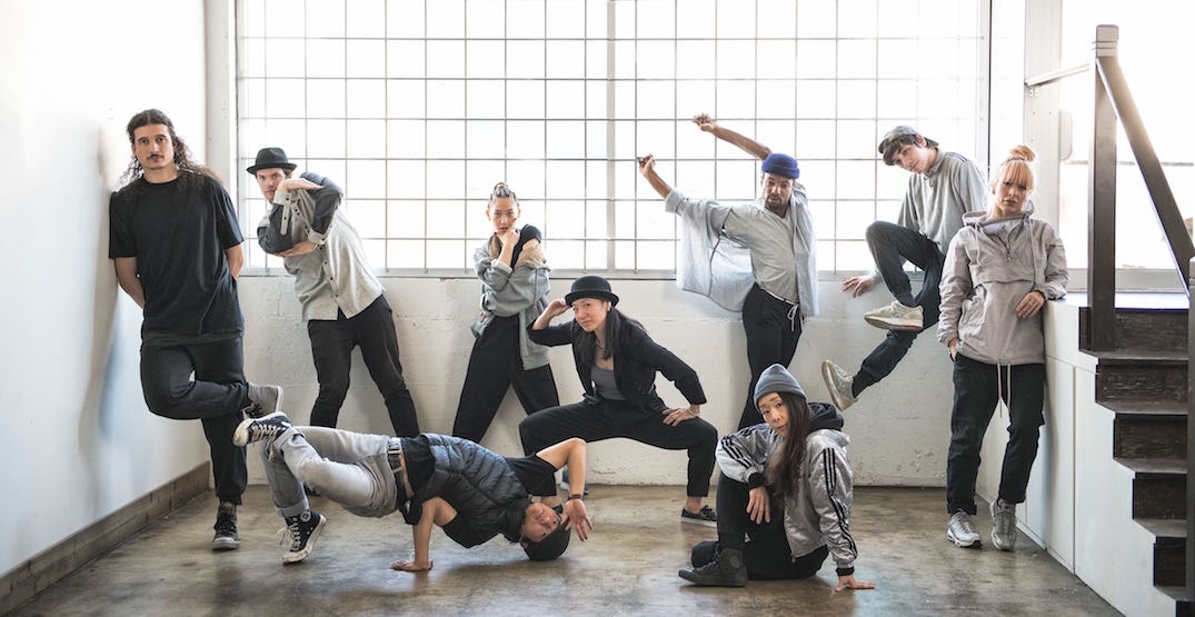 Professional dancers are taking over the Vancouver Public Library on Sunday