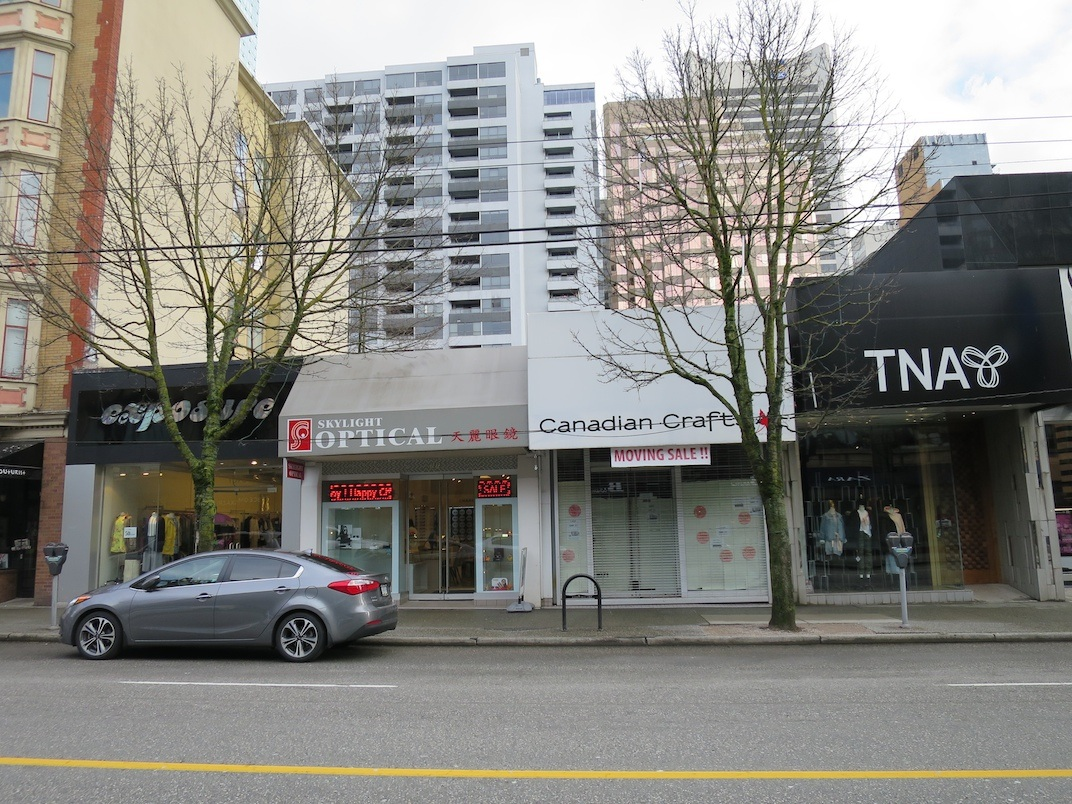 1067 Robson Street, Vancouver