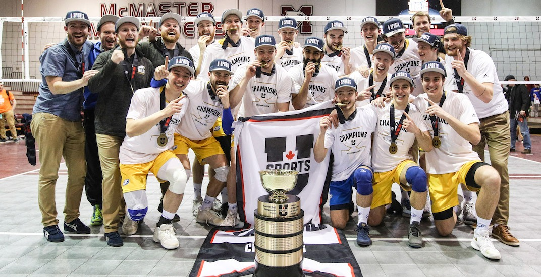 UBC men's volleyball team wins first national championship in 35 years