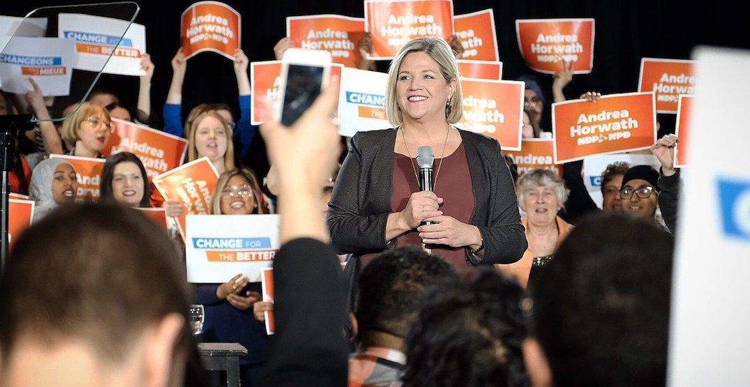 New poll suggests Ontario NDP could capture majority