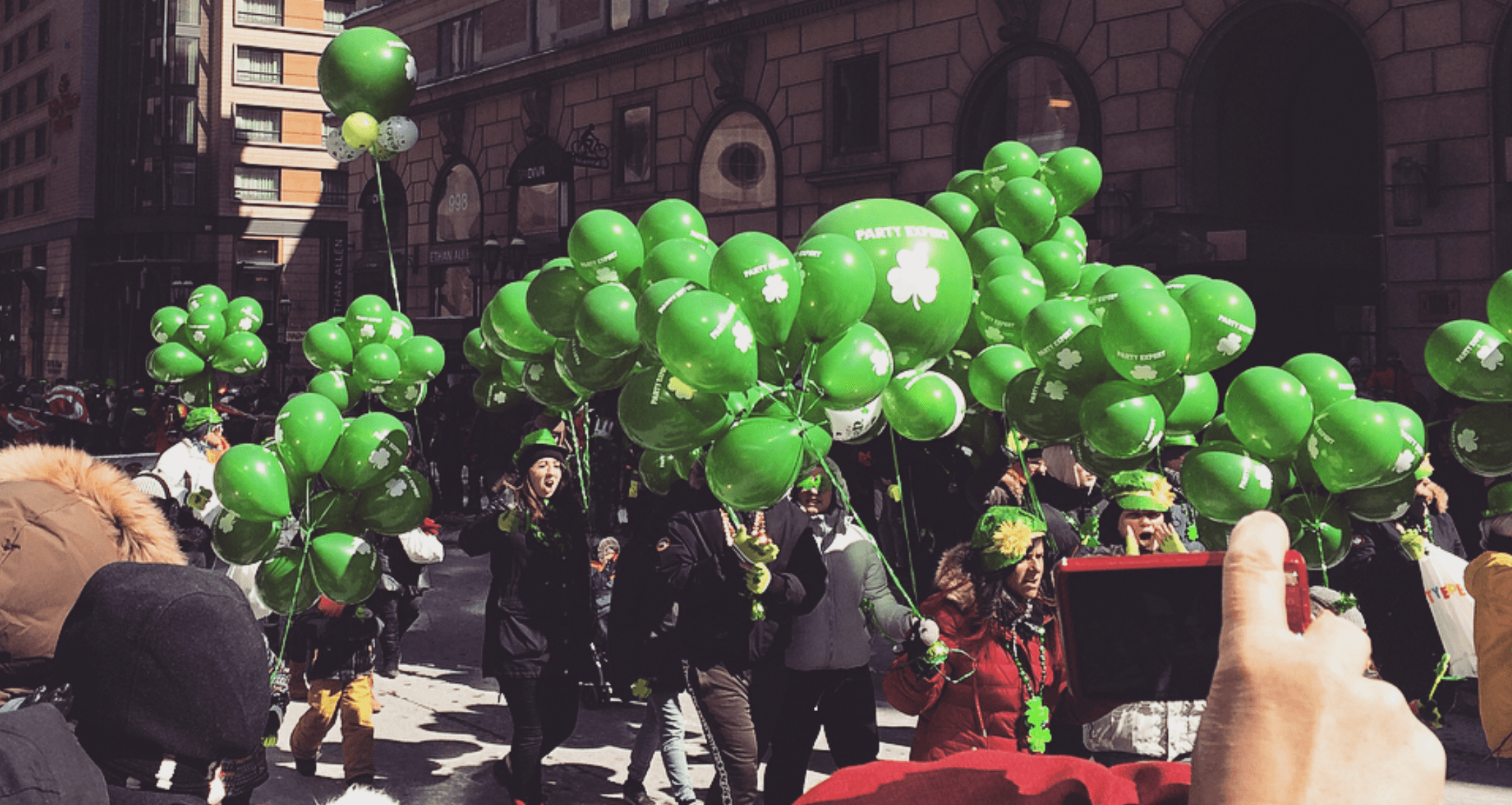 19 festive photos from the St. Patrick's Day Parade in Montreal
