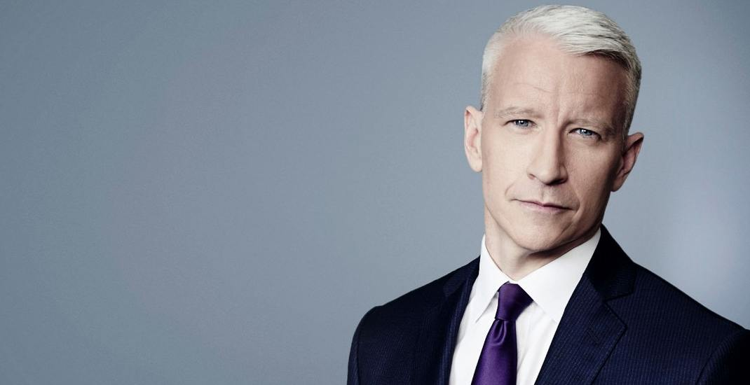 CNN host Anderson Cooper is coming to Toronto this weekend