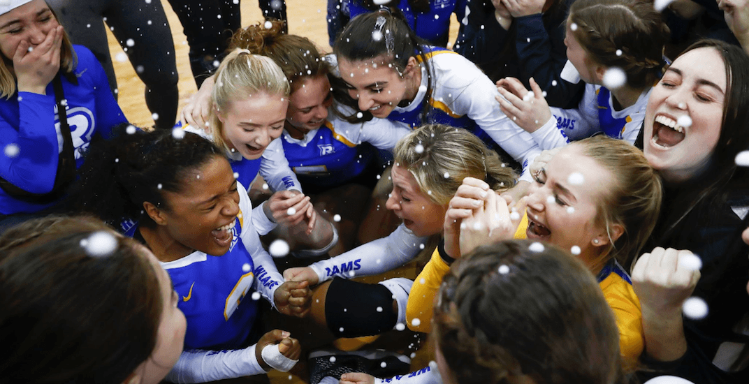 Ryerson completes perfect season for first-ever women's volleyball national championship