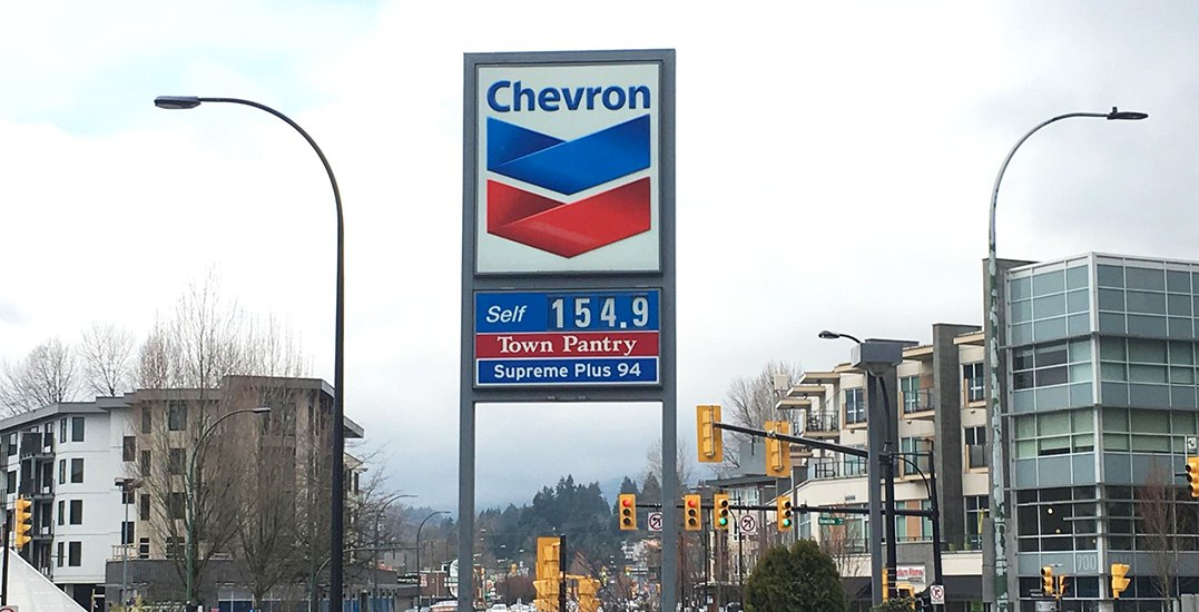 Gas prices to push even higher thanks to BC's carbon tax hike