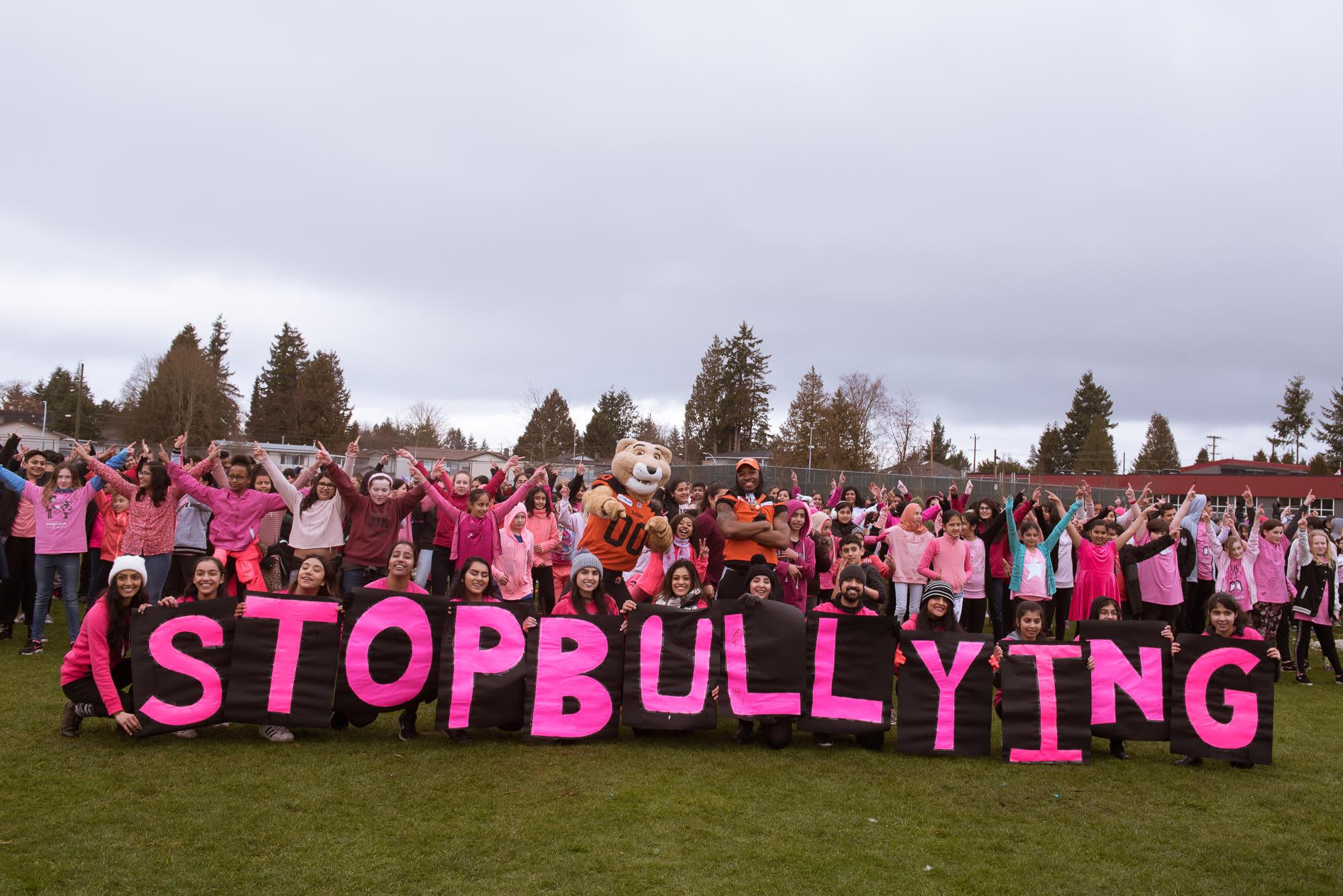 vancouver anti-bullying flash mob