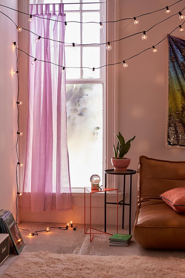 Globe String Lights / Urban Outfitters