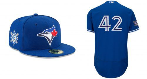 Image  MLB.com. Not much difference here from the typical Blue Jays uniform  ... 545565d99