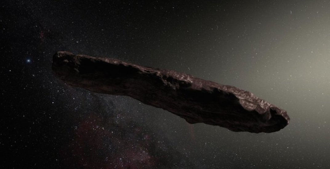 University of Toronto astronomer confirms our solar system's first interstellar asteroid