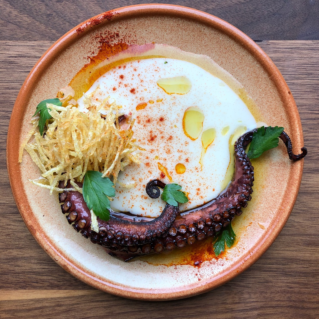 octopus campo food hall labora spanish