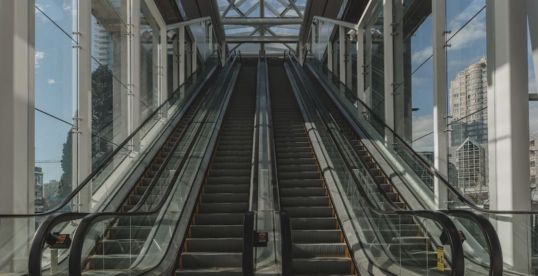 New Metrotown Station entrance opens with 4 additional escalators (PHOTOS)
