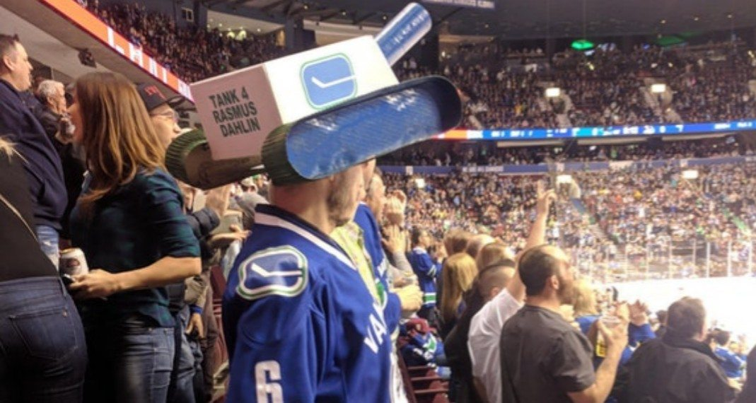 Canucks fans on 'Team Tank' are taking losing seriously, in a hilarious way