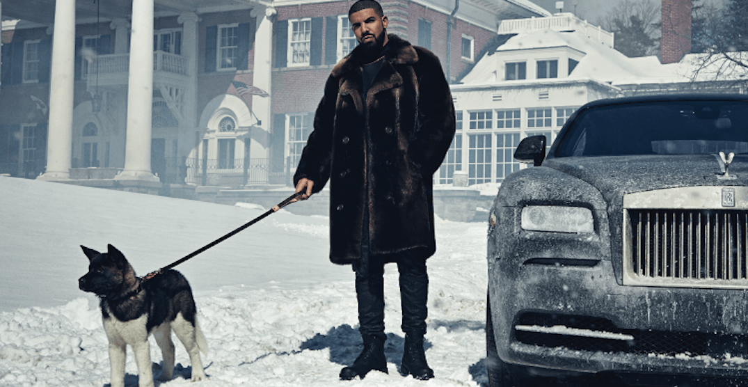PETA sends Drake open letter asking him to end partnership with Canada Goose