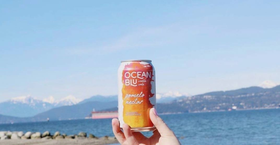 Drink well and do good with this new BC-made vodka soda
