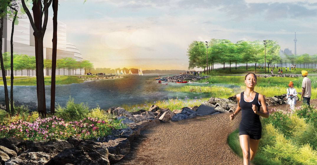 Everything you need to know about Toronto's newest island (RENDERINGS)
