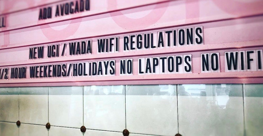 Vancouver cafe imposes laptop and Wi-Fi ban on weekends