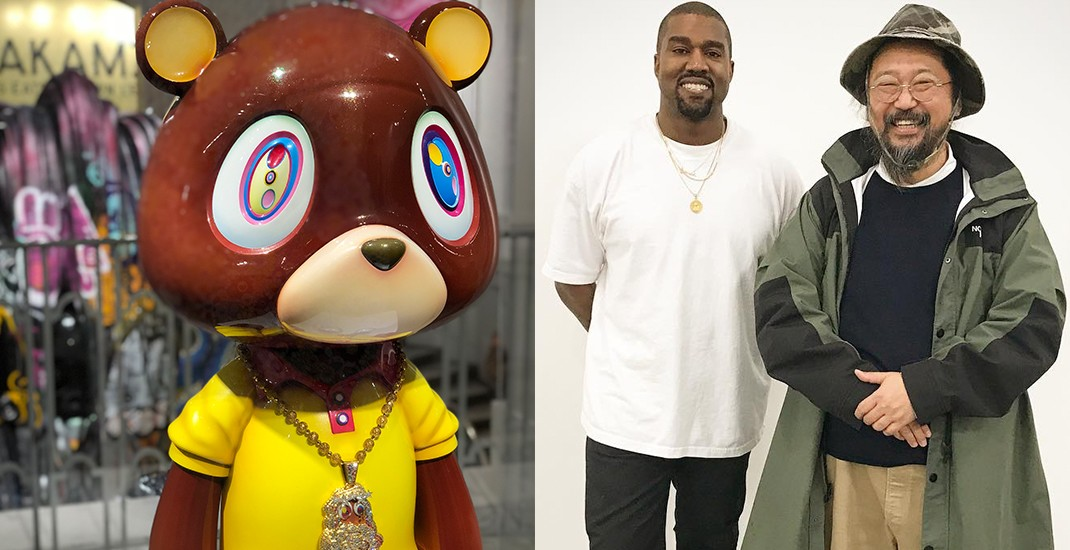 See Kanye West's Graduation Bear in Vancouver right now