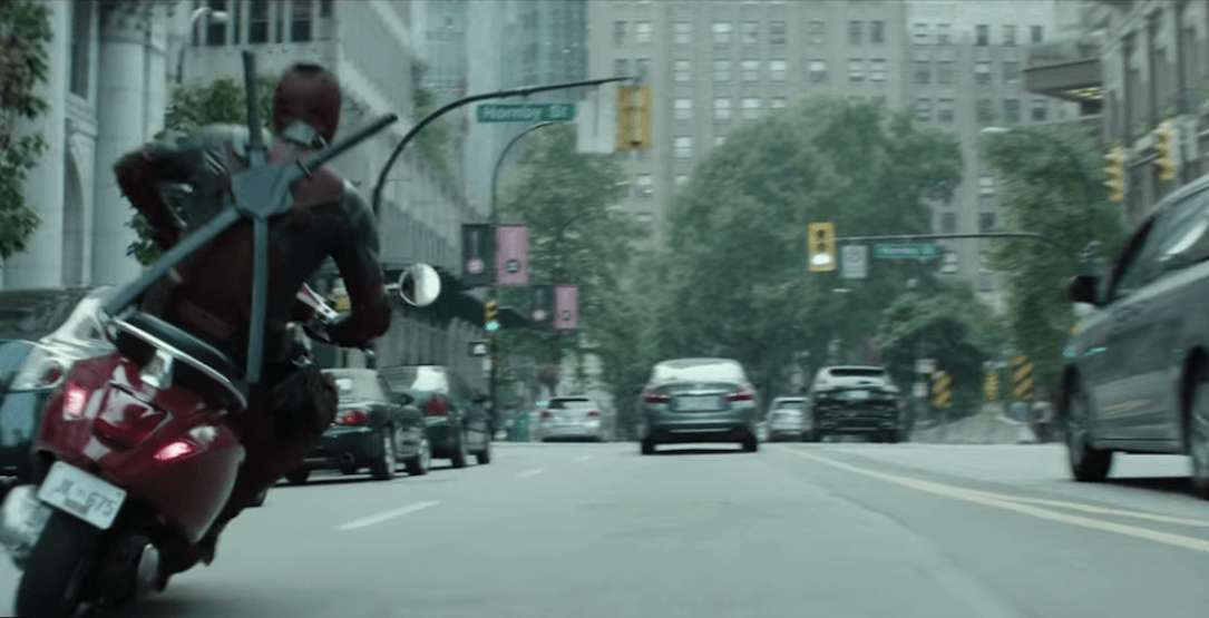 Deadpool 2 releases new trailer showing off downtown Vancouver (VIDEO)