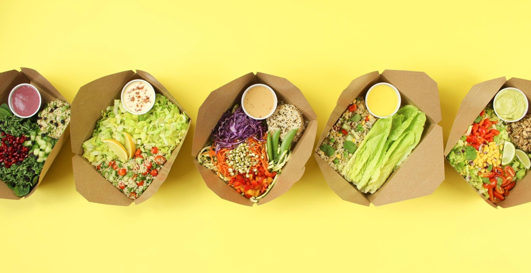 Where to get vegetarian food on-the-go in Toronto