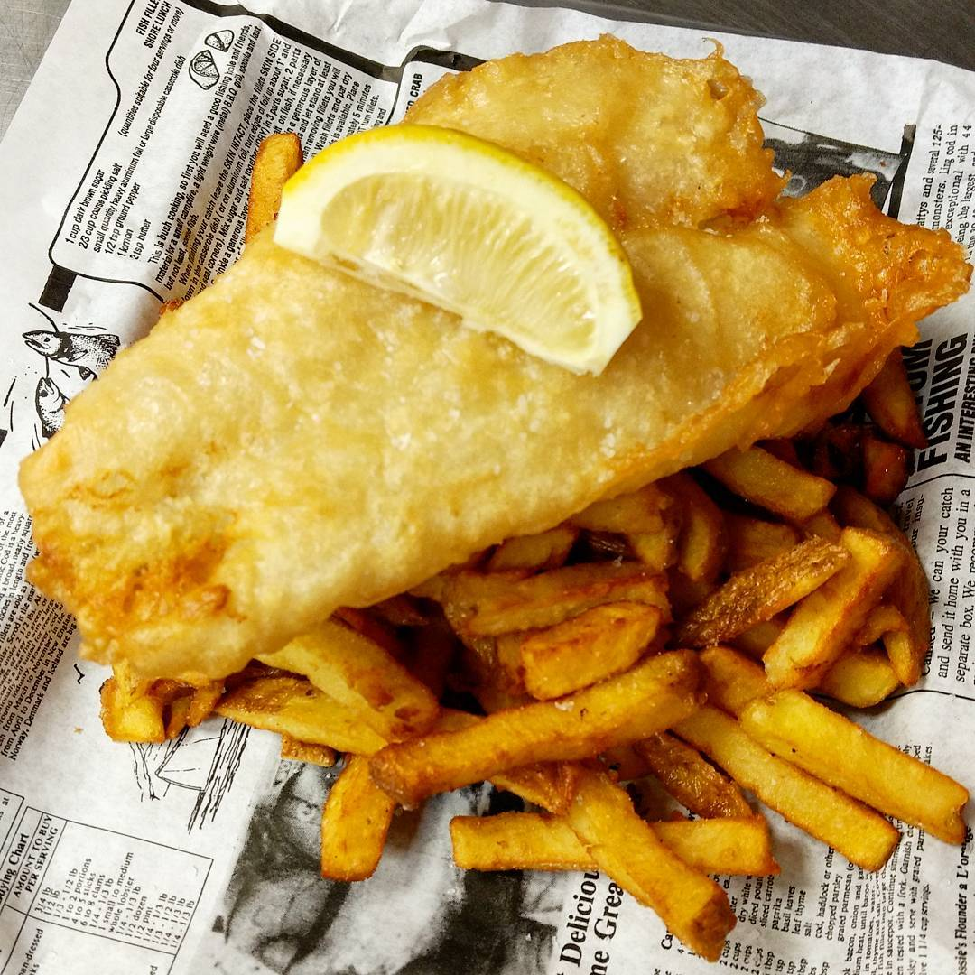 fish and chips the one that got away